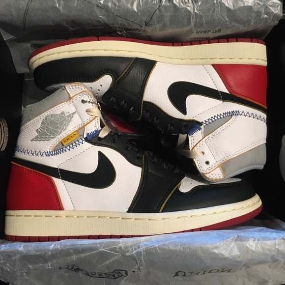 newest fc4df a3340 Union Los Angeles Nike Air Jordan 1 Black Toe